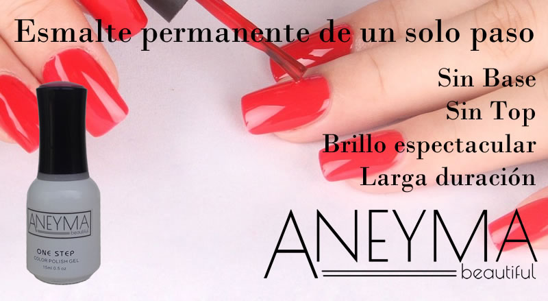Esmaltes permanentes 3 en 1 de Aneyma, Oferta Black Friday