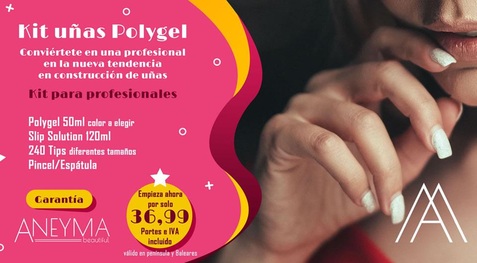 Kit básico para uñas de Polygel