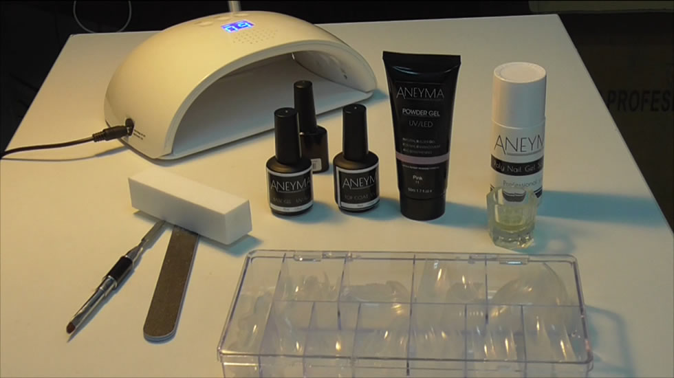Materiales para la aplicación de Polygel Nails