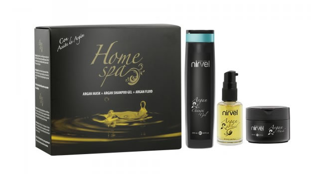 Pack Regalo Argán Home Spa Nirvel