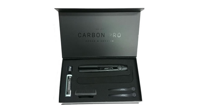 Estuche de regalo Plancha de Pelo profesional Carbon Pro