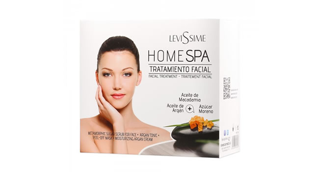 Pack de regalo Home Spa facial de LeviSsime
