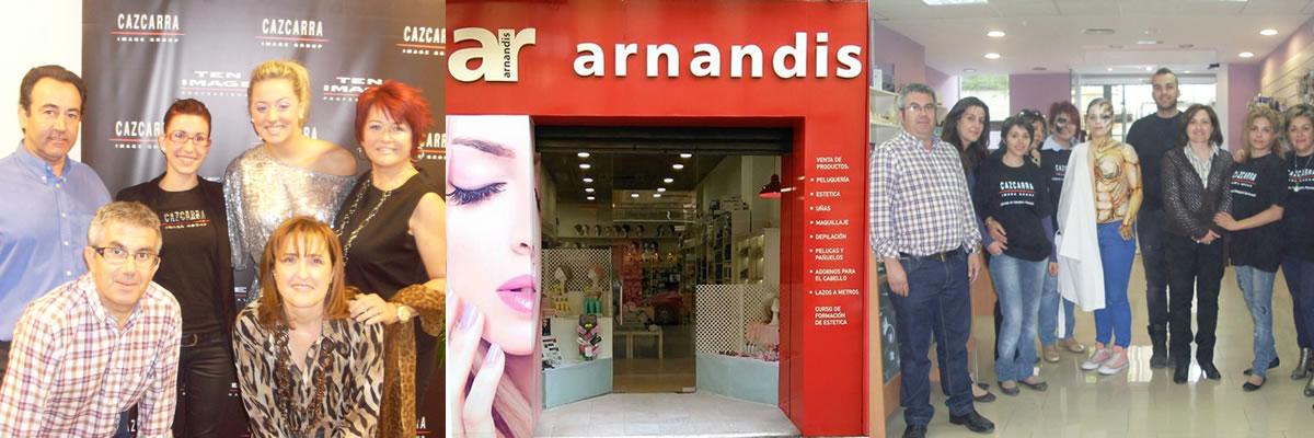 Arnandis Tienda de productos de peluquería estética y complementos