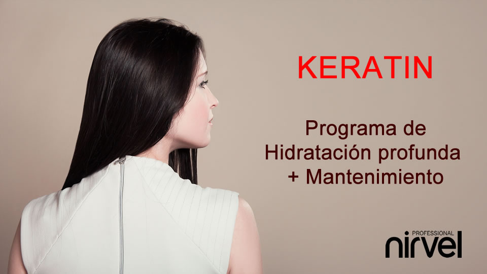 Programa de reparación Keratin Nirvel