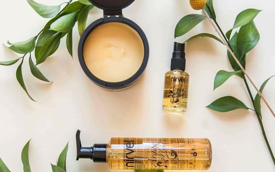 Linea de productos para la reparación del cabello Nirvel Home Spa
