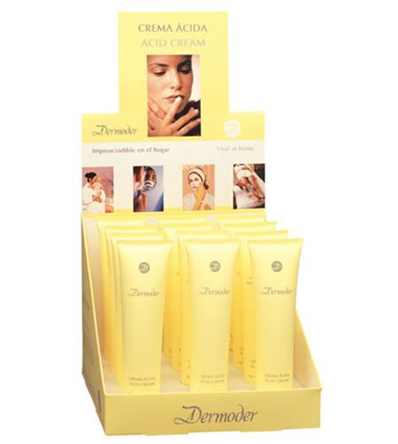 Expositor crema ácida Dermoder ideal para irritaciones