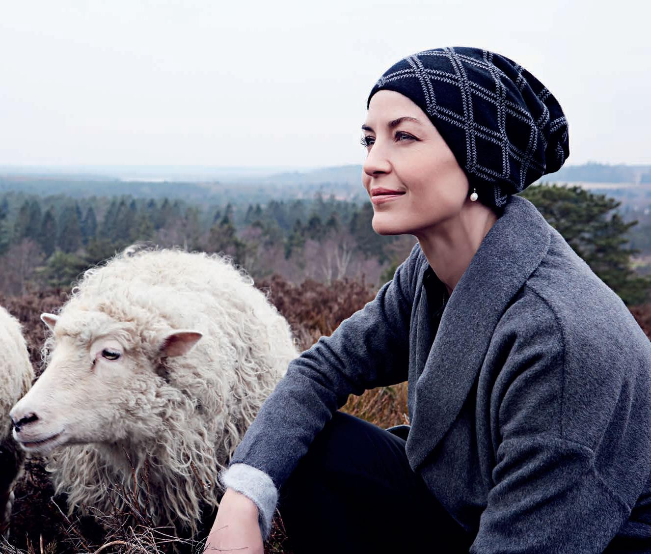 Gorro de lana merina y cachemire 517