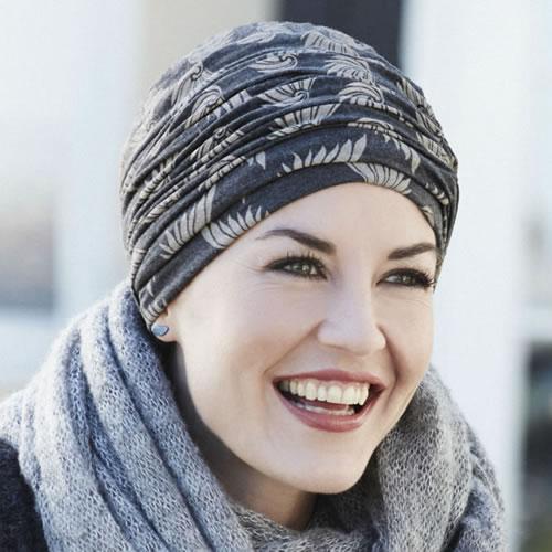 Turbante oncologico modelo Karma estampado