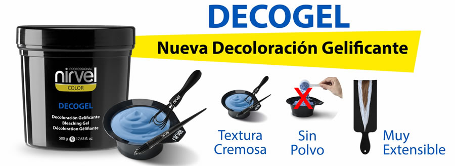 Decolorante gelificado Nirvel Decogel