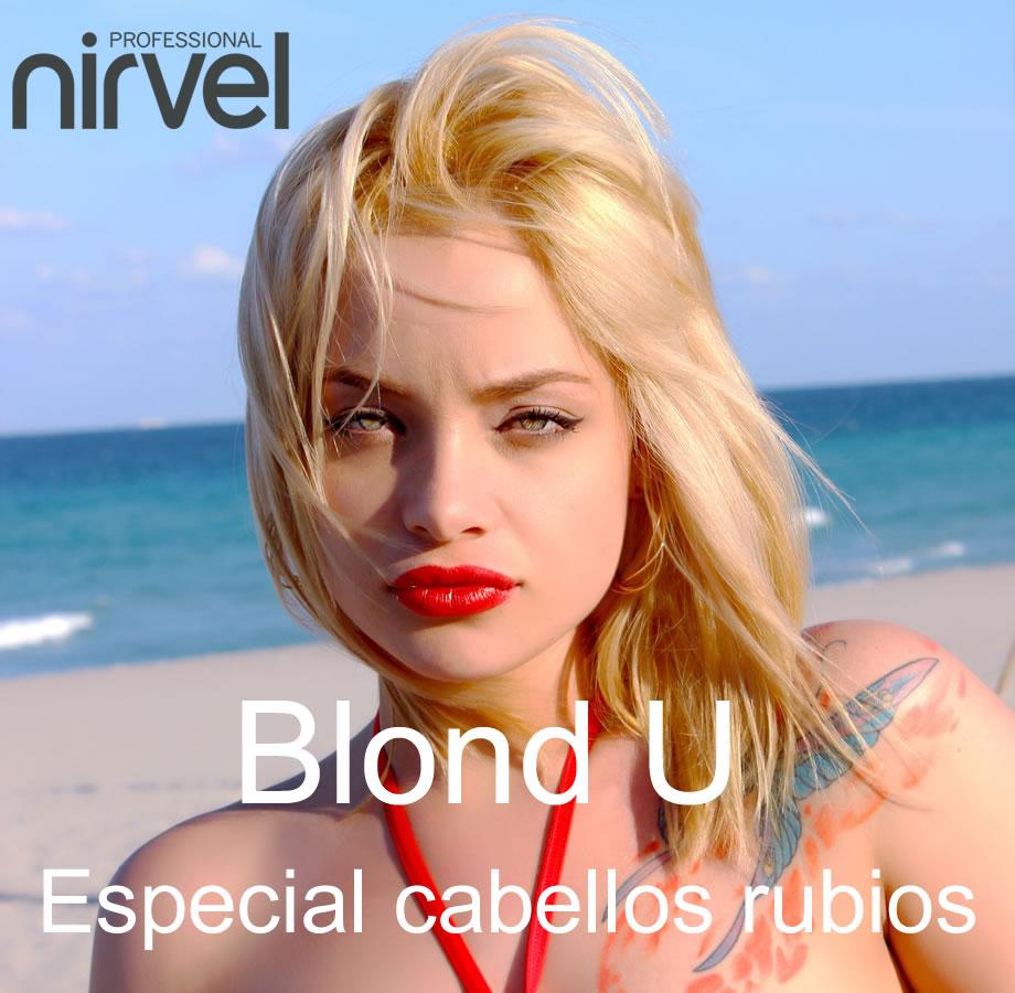 Tinte Nirvel Blond U, especial cabellos rubios