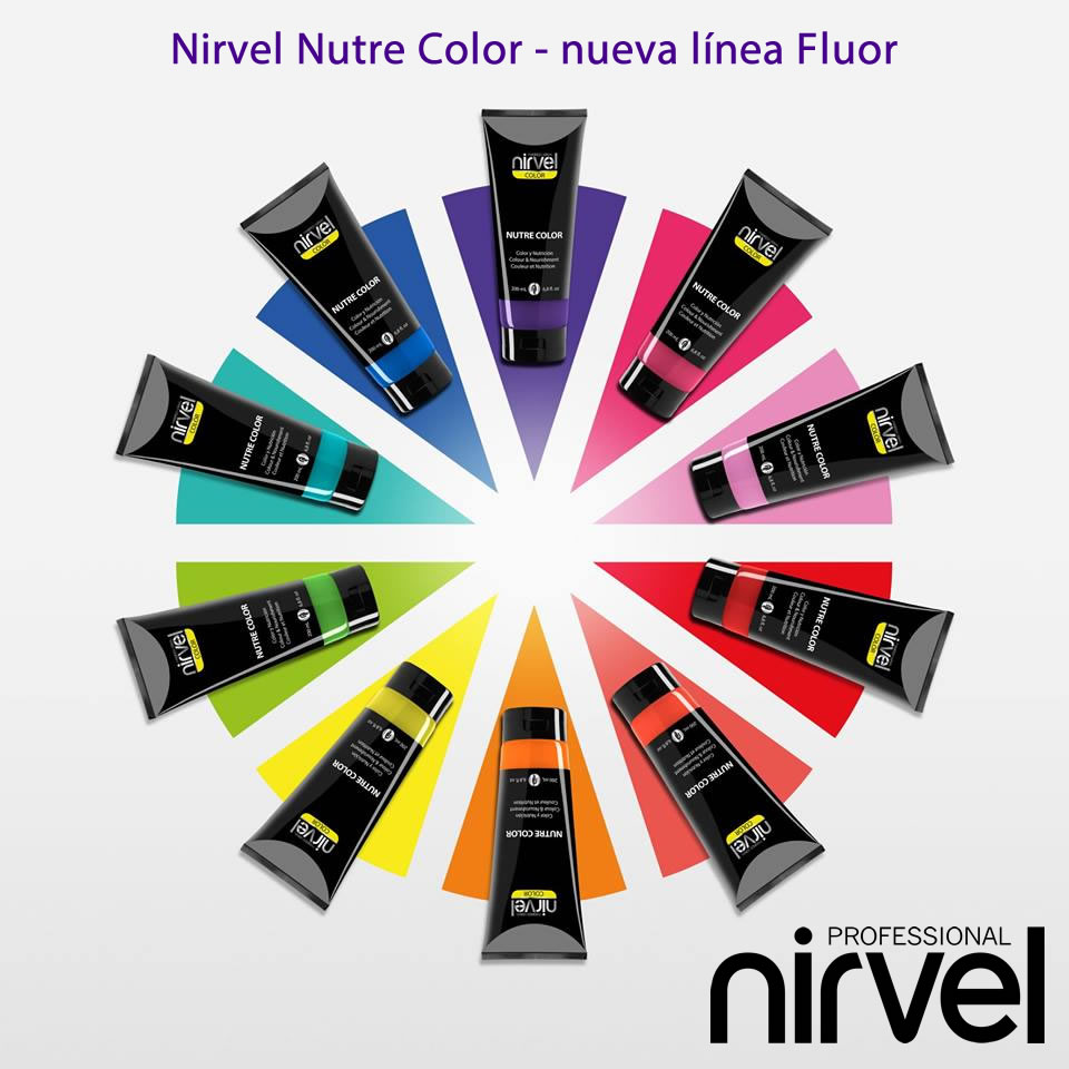 Carta de colores Nirvel Nutre Color Fluor