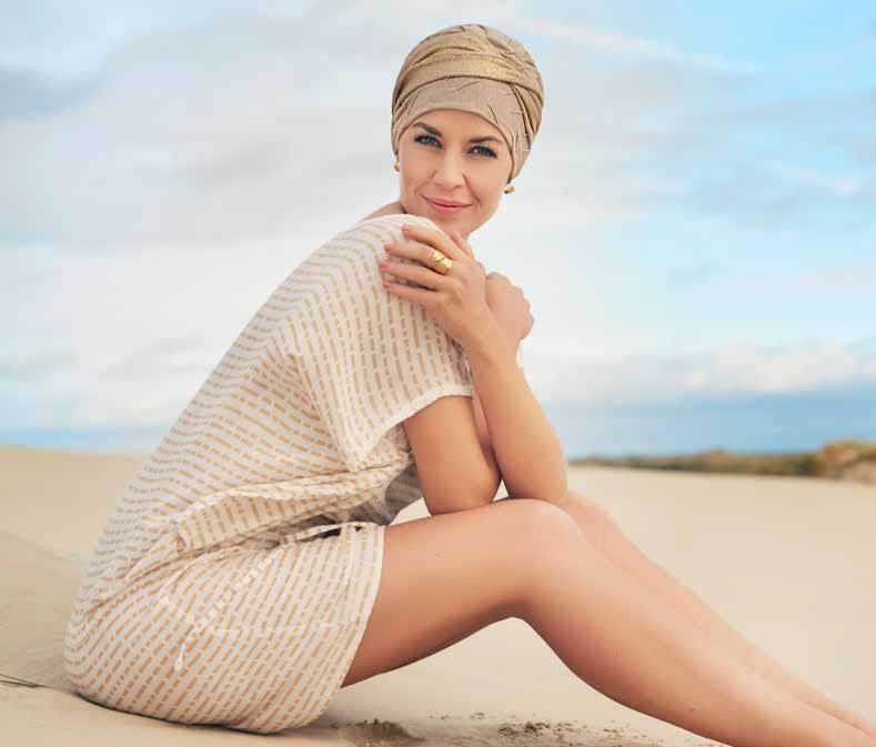 Nueva colección de turbantes oncológicos primavera verano 2018 de Christine Headwear