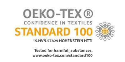 Certificado OEKO-TEX standard 100