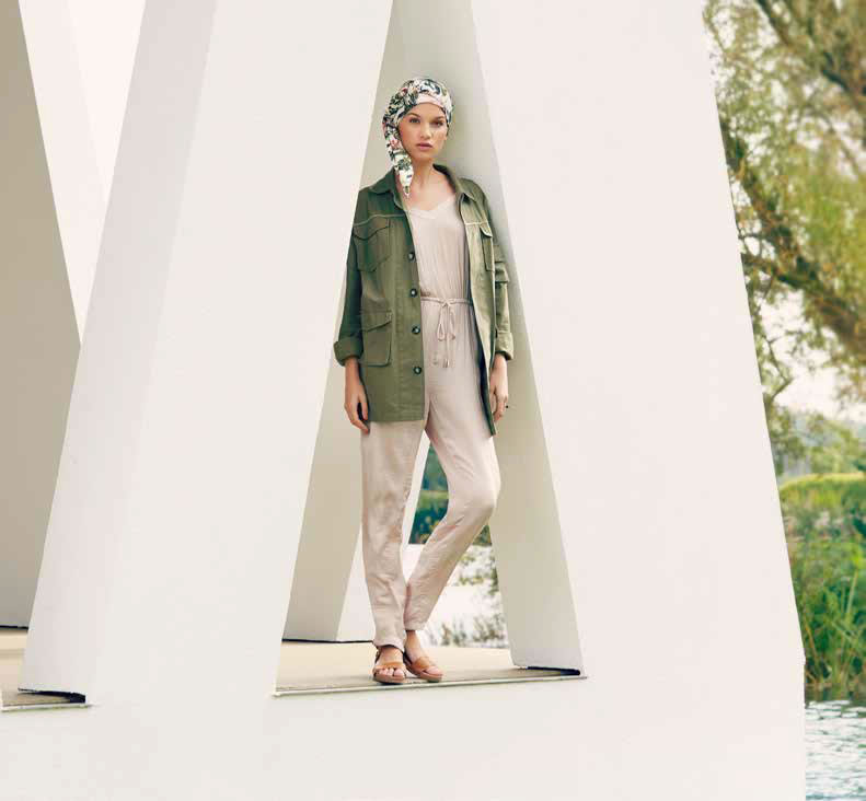 Pañuelo modelo Asta coleccion verano Viva Headwear